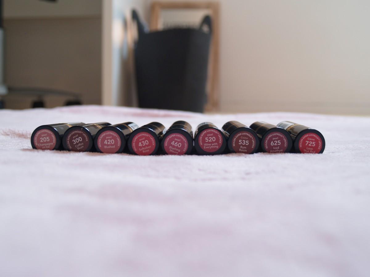 Revlon lipstick stash!