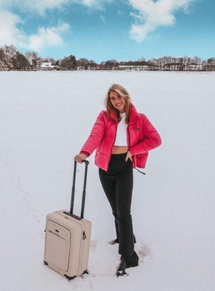 De perfecte handbagagekoffer van NORTVI 🌟
